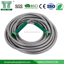 New Metal Garden Hose with Nozzles