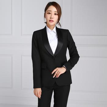 Women Uniform Office Suit Womens Office Dresses And Suits High
