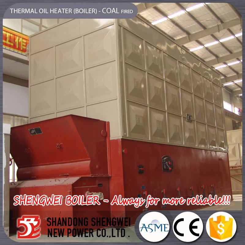 Industrial Water Coal Fired Wood And Coal Thermal Oil Boiler