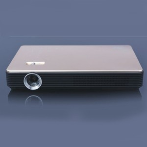 High Quality Portable MiNi DLP Projector S6 with Aluminum Alloy Body Shell Support Window 10 OS Smartphone Projector