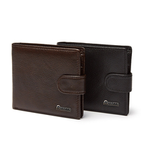 Top quality men genuine leather soft wallet coin leather wallet minimalist slim wallet