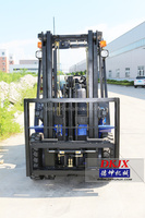 Imported Nissan K21Engine Powered Pallet Forklift truck 2.5ton LPG Forklift