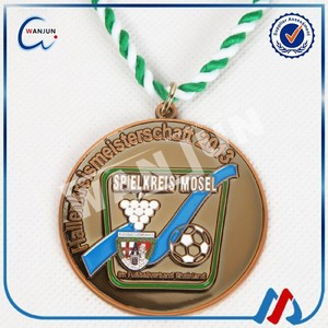 sedex 4p custom wholesale soccer trophy and medals