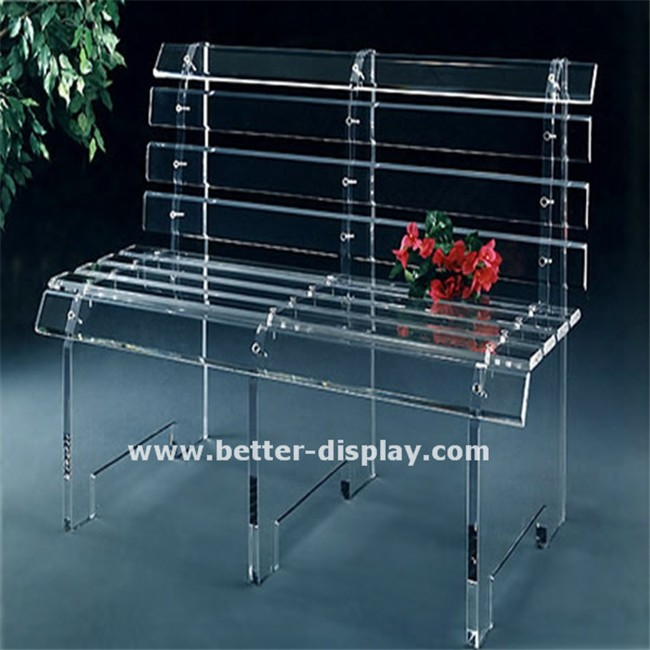 high quality lucite benches