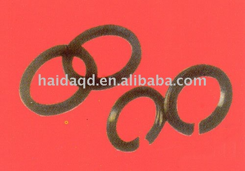 Graphite packing ring for stir sealing