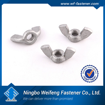 Stamped Wing Nuts Ss304/316 Carbon Steel China Manufacturers ...