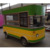 Electric fast food stainless steel food truck