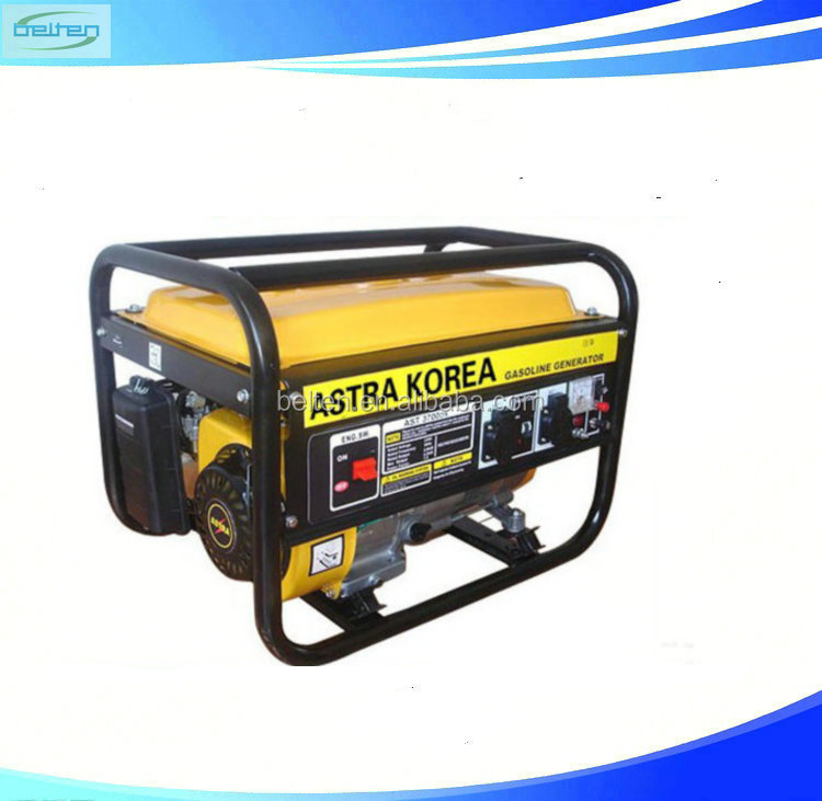 6KW 15HP Imported Generators Electric Motor Generator Battery For Electric Start Generator