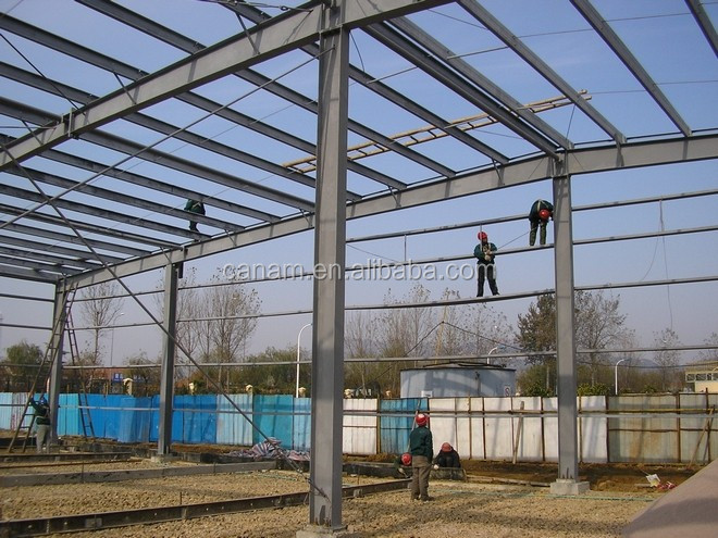 Prefabricated house materials steel beam frame
