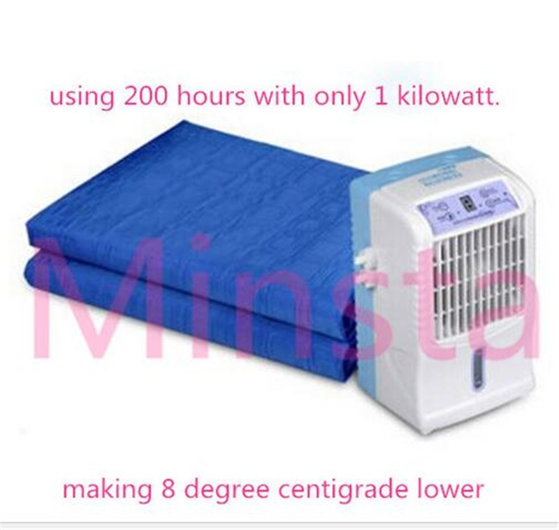 newest portable air conditioner desert air conditioner cooler water mattress pad