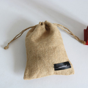 2018 Natural Product Cheap Small Burlap Pouch Picture Of Jute Bag Drawstring With Customized Logo