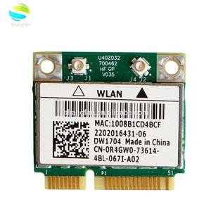 Wireless Adapter Card for Dell Inspiron 7720 DW1704 WLAN WiFi 802 11 b/g/n  + Bluetooth MiniPCI Card R4GW0