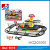 New Product orbit airport parking lot toy,B/O railway parking lot HC203901