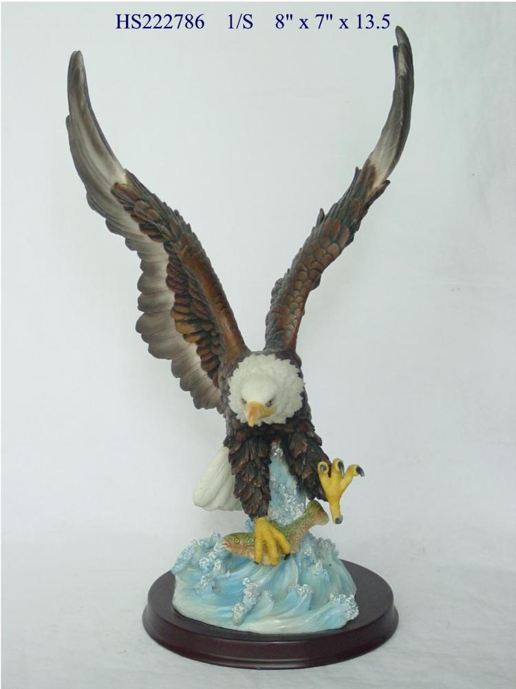 High Quality Indoor Resin Animal Statues Home Decoration Figures