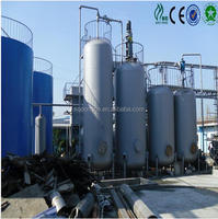 sale factory used oil distillation machine