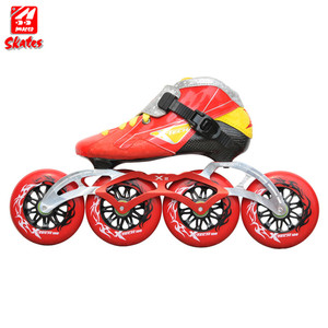 Children Speed Skating Shoes Professional Inline Ice Roller Wheels 110Mm Wheel Kids For Skates