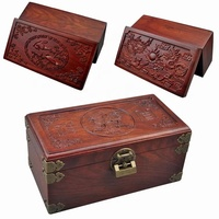 wholesale custom solid wood jewelry box wood packaging box