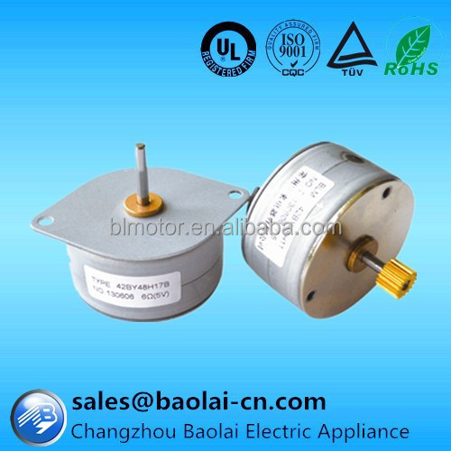 stepper motor NEMA17 42mm with CE,ISO,ROHS,UL Certification