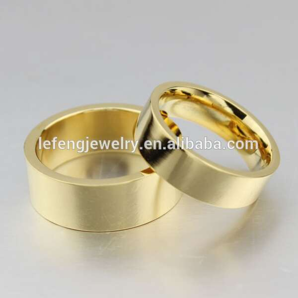 our traditional profile hallmarked bands of ring yellow i uk flat collection gold shaped band with rings wedding made this