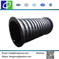 High pressure rubber dredging pipe floating suction hose