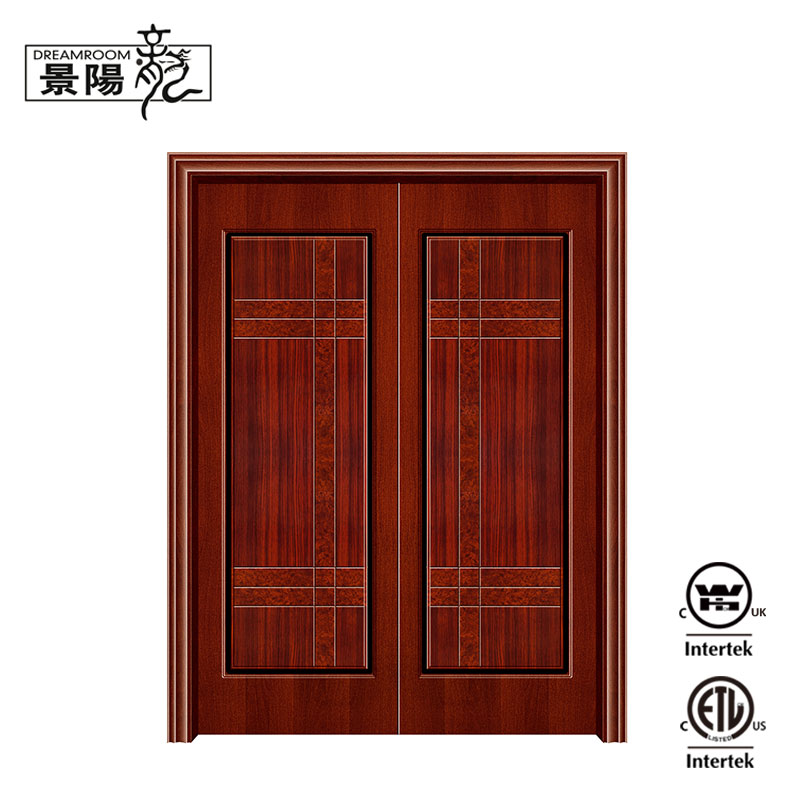Latest wooden partition sliding door for room
