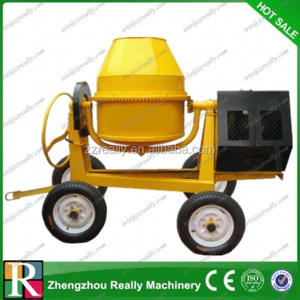 260l, 350l, 400l Electric Motor Or Diesel Concrete Mixer
