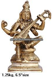 2015 Brass saraswati with musican