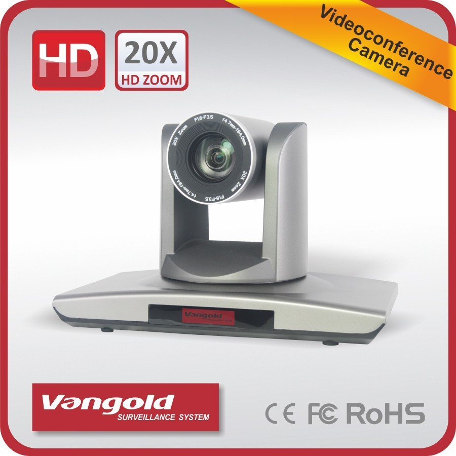 Canon Lens 20x zoom 2.0MP Meeting Conference Camera DI output support 3G