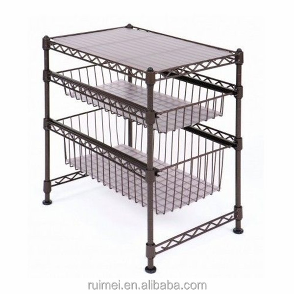 horizontal sliding wire basket drawers buy sliding wire basket drawers sliding wire basket. Black Bedroom Furniture Sets. Home Design Ideas