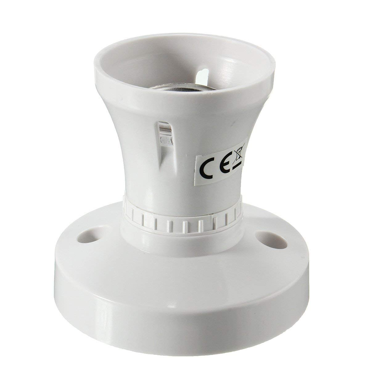 Wincom Dishman LIGHTING ACCESSORIES E27 Plastic Cap Socket Light Bulb Lamp Holder Base Fitting Adapter AC110-250V