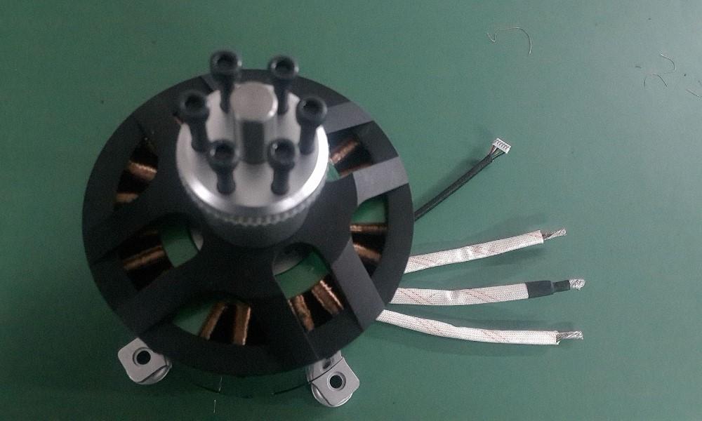 Hot sale mp120100 80kv watercooling sensored brushless for 50 kg thrust brushless motor