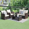 5 piece Outdoor Patio Furniture Sets With Cushions
