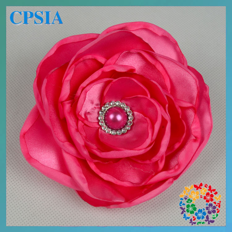 Hot Pink Decorative Flowers Posh Petti Decorative Flowers for Clothes/Hair band dry flowers for decoration
