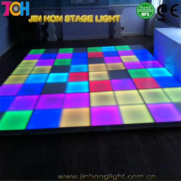 Hot sale lights dmx outdoor make interactive led dance floor