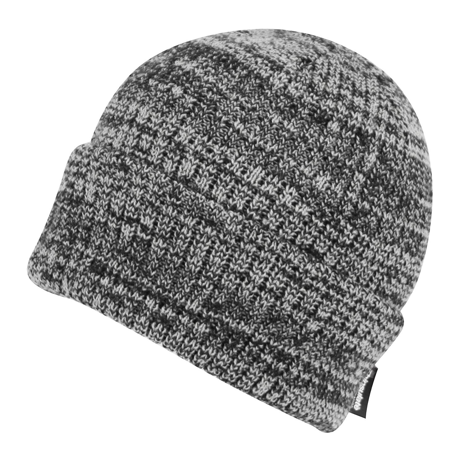 Thinsulate BN2388 Winter Hats 40 Gram Insulated Cuffed Winter Hat (BN2389DK Gray)