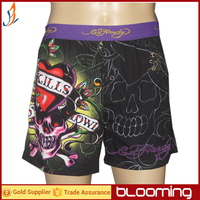 95% cotton 5% spandex knit jersey boxer shorts
