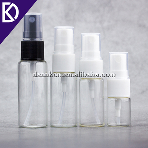 Custom Size Spray Bottle with transparent glass wall