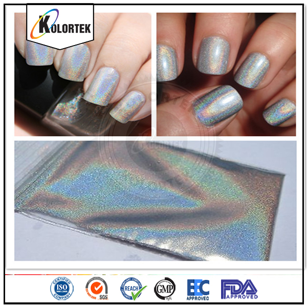 How Does Powder Nail Polish Work: Cosmetic Grade Spectraflair Holographic Pigment Powder For