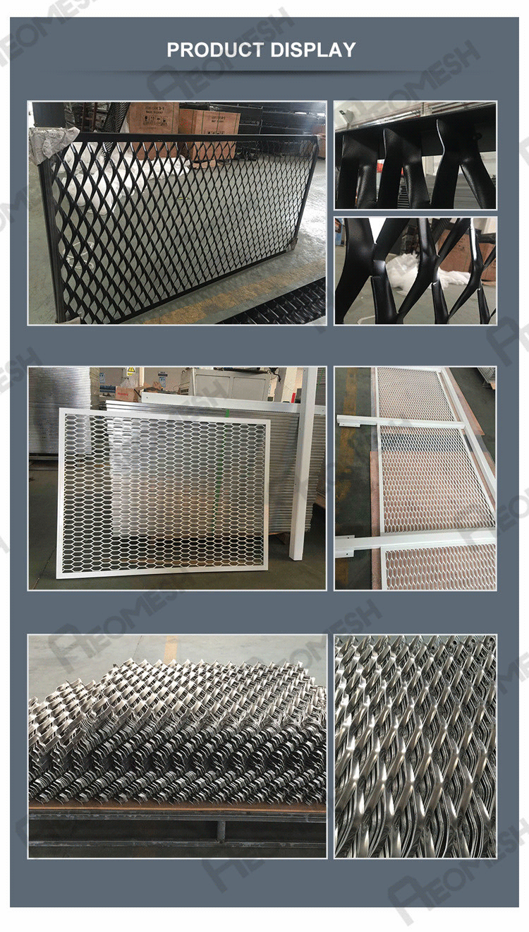Best Price Expanded Aluminum Mesh/decorative Aluminum Expanded Metal ...