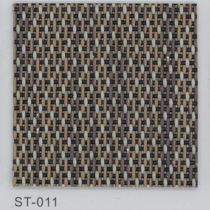 Eco-friendly PVC woven vinyl flooring tiles for commercial usage ST Series