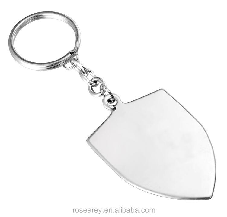 Cheap Custom Stamping Heart Bar Square Country Charm Tags Blanks Stainless Steel Keychain