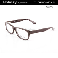 New spectacles design spring hinge bamboo eyewear of high quality from china