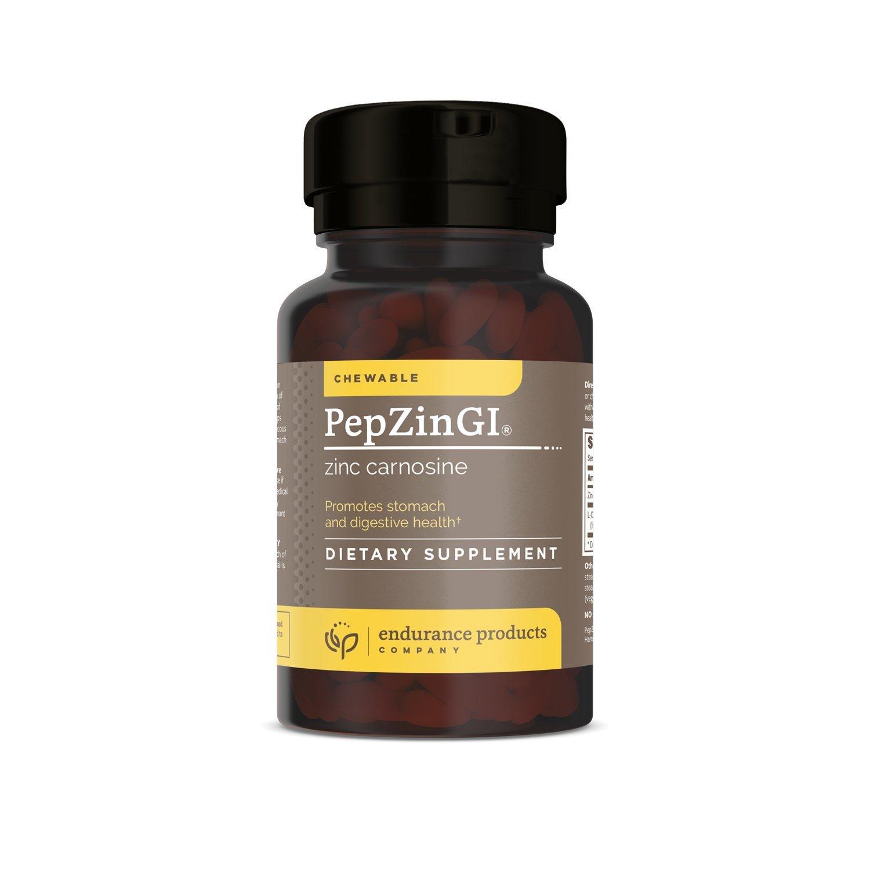 PepZin-GI Zinc-Carnosine 60 chewable tabs, (Packaging May Vary)