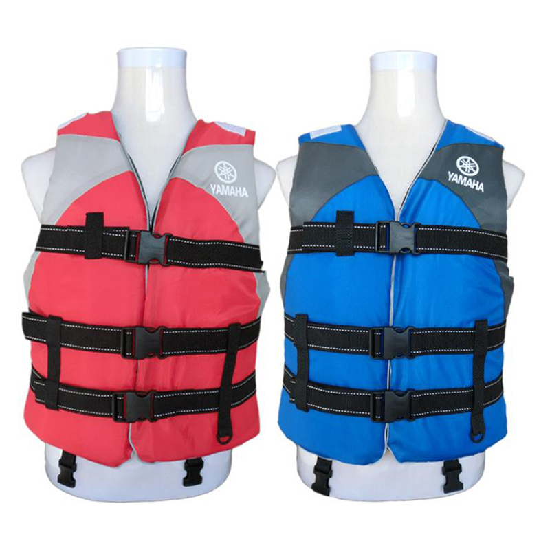 Adult Polyester Swimming Life Jacket Professional Life Vest For Drifting Boating Survival Fishing Safety Jacket Water Sport Wear Ample Supply And Prompt Delivery Water Sports Water Safety Products
