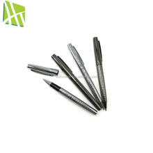 High quality office widely use black ballpoint pen