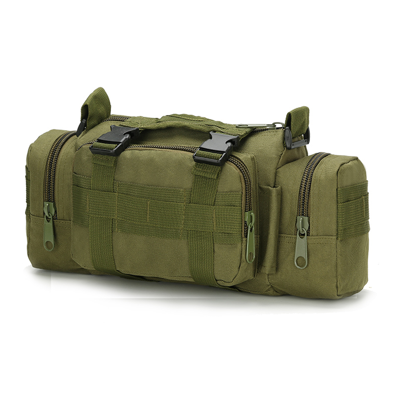 Waterproof travel hiking camera bags outdoor waist bag tactical military sling bag