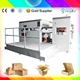 semi automatic paper feed automatic corrugated sheet stripping die cutting machine