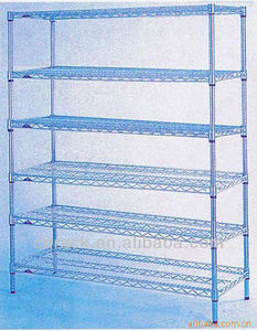 plastic coated wire shelving