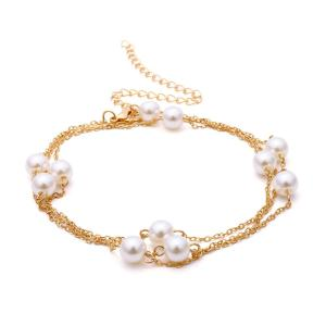 Fashion Gold Gold Pearl Necklace Jewely Factory For Women NS8063416