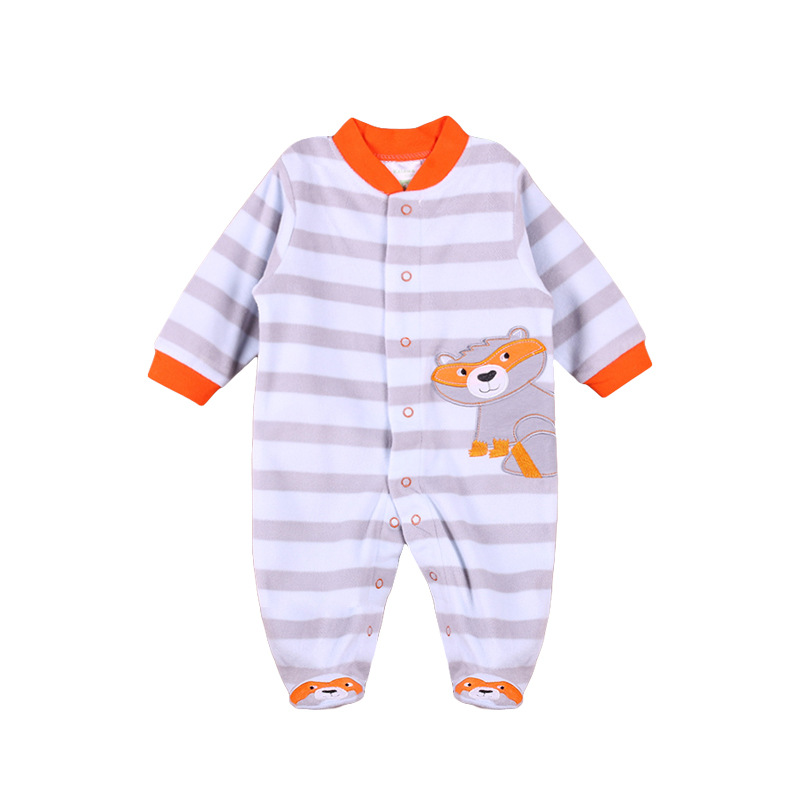Fashion Comfortable Long Sleeves New Born Clothes Unisex Baby Romper